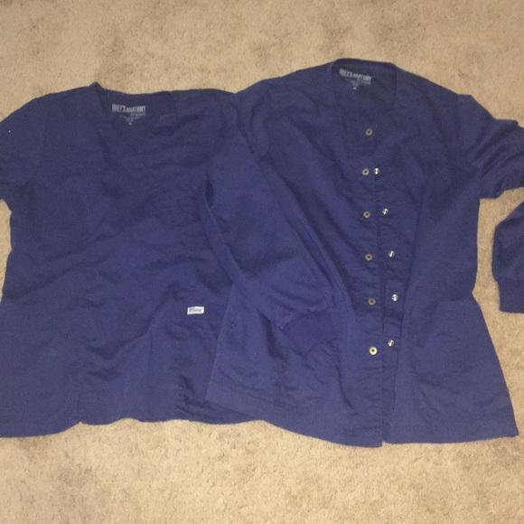 Grey's Anatomy Tops - Grey's Anatomy two-piece size medium scrub top